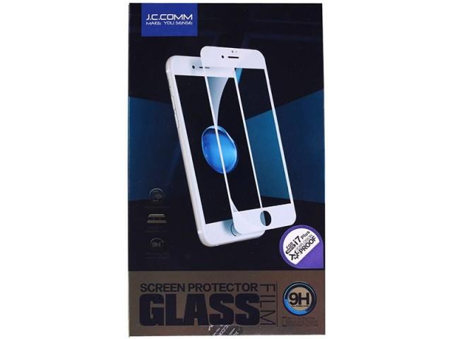 محافظ صفحه نمایش تمام چسب جی سی کام مناسب برای گوشی موبایل آیفون 7/8 پلاس