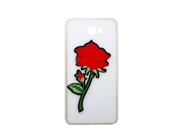 کاور گلدار شیشه ایی مناسب گوشی موبایل سامسونگj7 prime