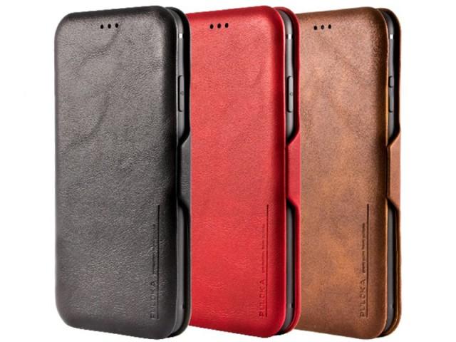 کیف چرمی Puloka Multi-Function مناسب برای گوشی موبایل سامسونگ Note 10