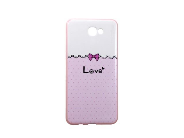 کاور طرح بلکین مدل love مناسب گوشی موبایل سامسونگj7 prime