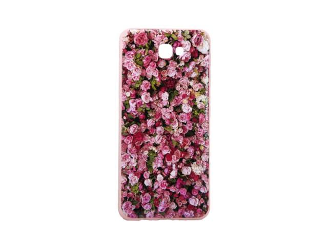 کاور طرح بلکین مدل گل ریز برجسته مناسب گوشی موبایل سامسونگj7 prime