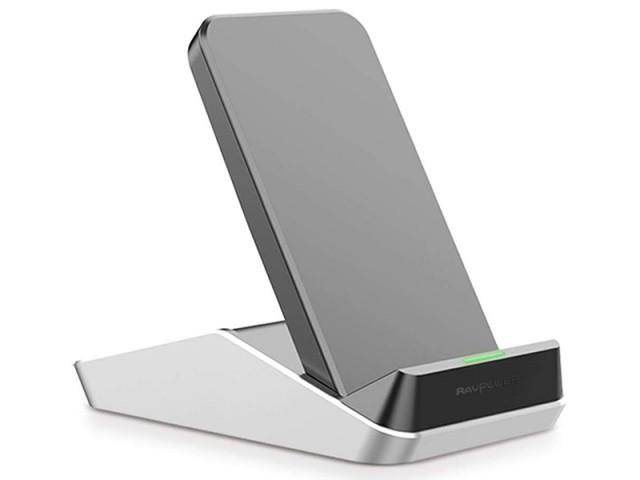 شارژر وایرلس فست شارژ راوپاور مدل RP-PC076 Fast Wireless Charging Stand