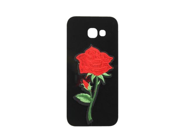 کاور گلدار شیشه ایی مناسب گوشی موبایل سامسونگ A5 2017