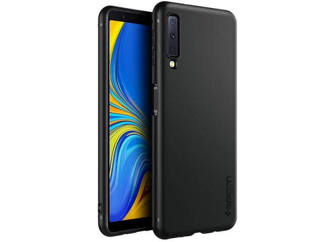 کاور طرح Spigen مناسب برای گوشی موبایل سامسونگ A7 2018