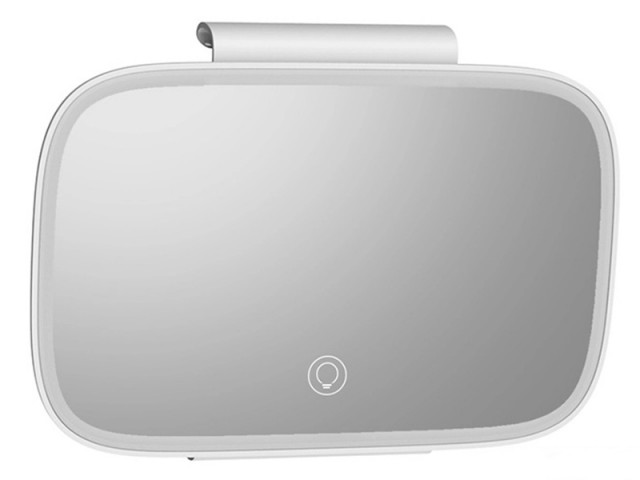 آینه چراغ دار بیسوس مدل Delicate Queen Car Touch Up Mirror