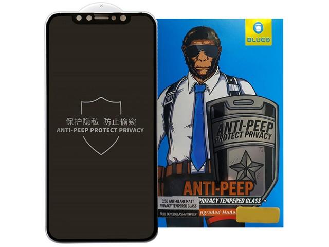 محافظ صفحه نمایش مات و حریم شخصی بلوئو مدل ANTI-PEEP مناسب برای گوشی موبایل اپل iPhone 11/XR