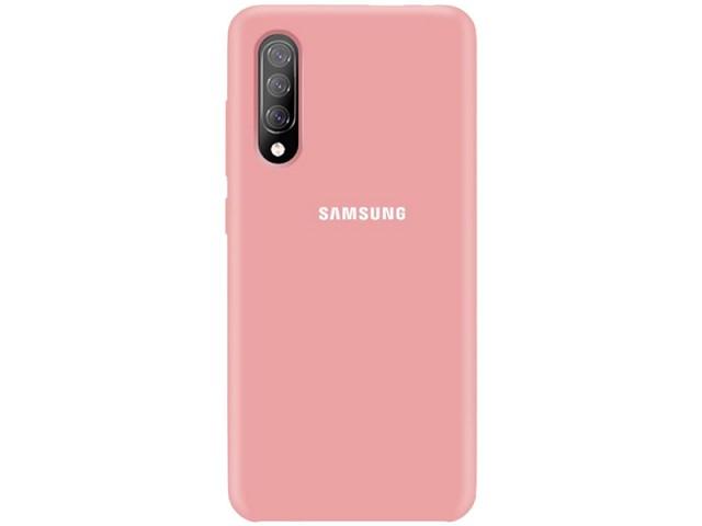 کاور سیلیکونی مدل Silky and Soft touch finish مناسب برای گوشی موبایل سامسونگ A70/A70s