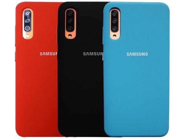 کاور سیلیکونی مدل Silky and Soft touch finish مناسب برای گوشی موبایل سامسونگ A50