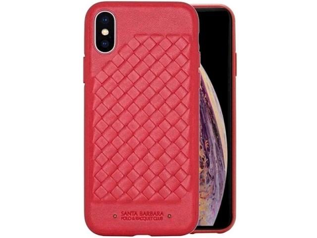 کاور چرمی سانتا باربارا پولو مدل RAVEL مناسب برای گوشی موبایل آیفون Xs Max