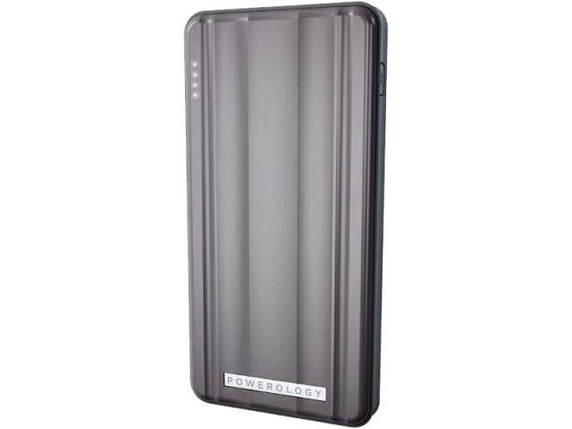 پاور بانک 10000 میلی آمپر پاورولوژی مدل P10QCPDGY Slim PD Power Bank 18W