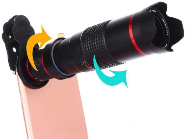 لنز تلسکوپی گوشی موبایل لی کیو آی مدل Pro Series Telephoto LENS 18X