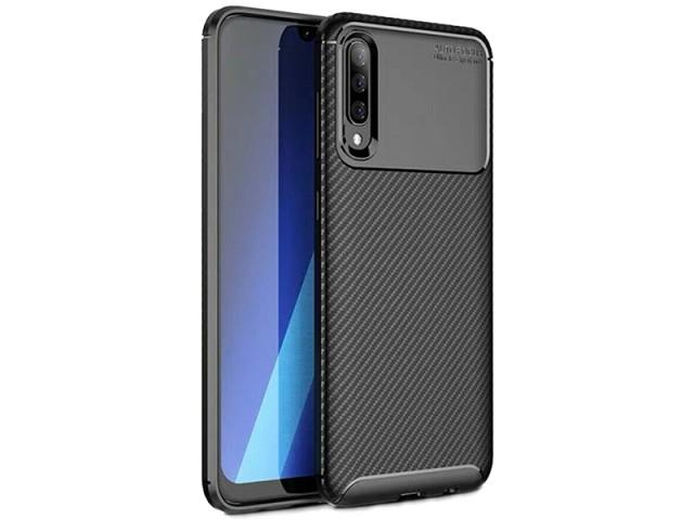 کاور طرح فیبر کربن Becation مناسب برای گوشی موبایل سامسونگ A90 5G