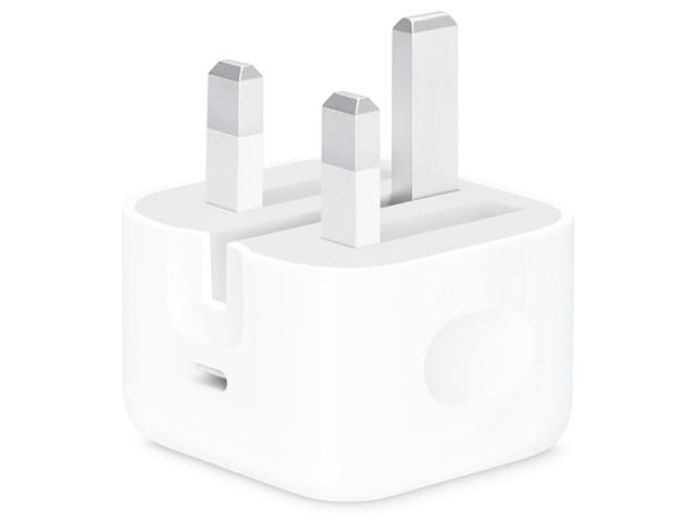 شارژر دیواری اورجینال اپل مدل A1696 MU7W2 USB-C 18W Power Adapter