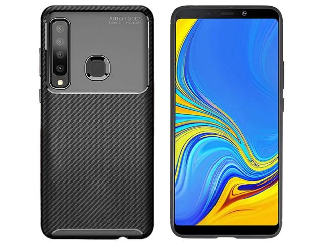 کاور طرح فیبر کربن Becation مناسب برای گوشی موبایل سامسونگ A9 2018