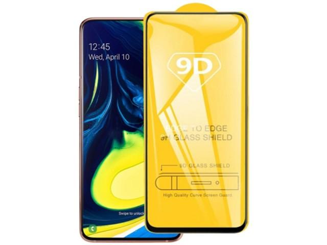 محافظ صفحه نمايش مدل 9D مناسب برای گوشی موبايل سامسونگ A80/A90
