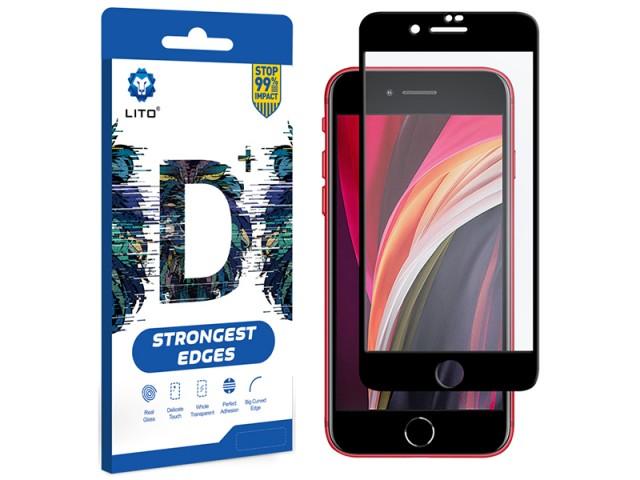 محافظ صفحه نمایش لیتو مدل +D مناسب برای گوشی موبایل آیفون SE 2020