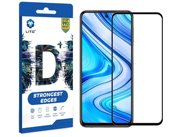 محافظ صفحه نمایش لیتو مدل +D مناسب برای گوشی موبایل شیائومی Redmi Note 9S/Note 9 Pro/Note 9 Pro Max/Poco X3