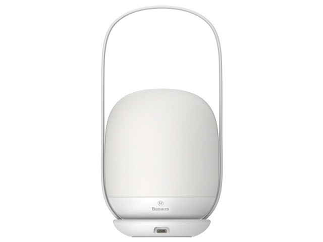 لامپ شارژی قابل حمل بیسوس مدل Moon-White Series Stepless Dimming Portable Lamp