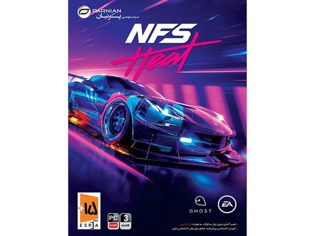 بازی کامپیوتری جنون سرعت Need for Speed Heat نشر پرنیان