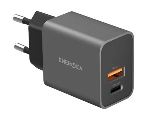 شارژر دیواری فست شارژ 20 وات انرژیا مدل AmpCharge PD20+ EU