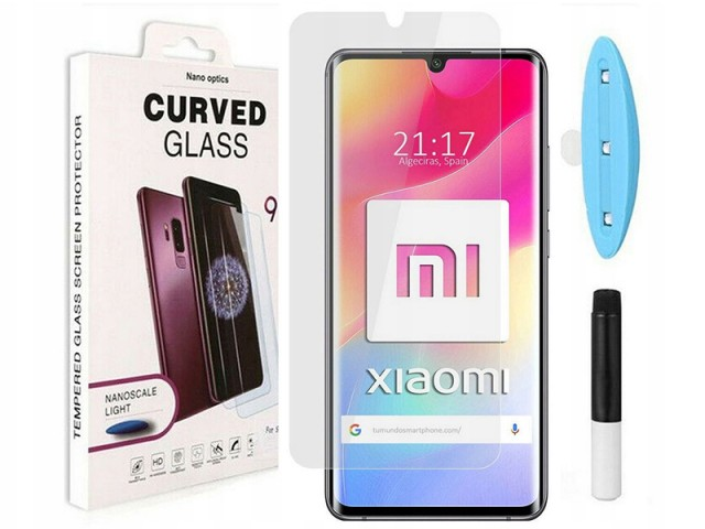 محافظ صفحه نمایش UV مناسب برای گوشی موبایل شیائومی Mi Note 10 lite