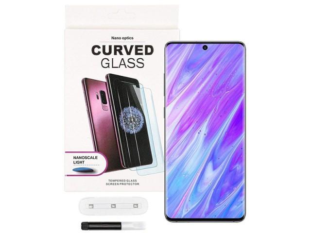 محافظ صفحه نمایش UV مناسب برای گوشی موبایل سامسونگ S20 Ultra