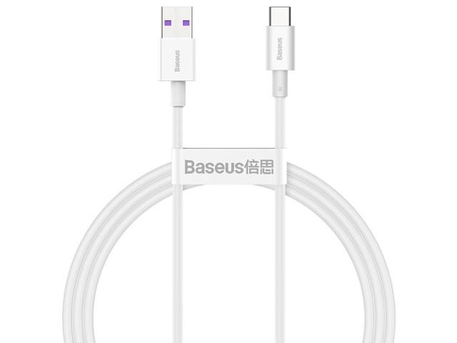 کابل فست شارژ تایپ سی بیسوس مدل Superior Series Fast Charging Data Cable CATYS-02 به طول 1 متر