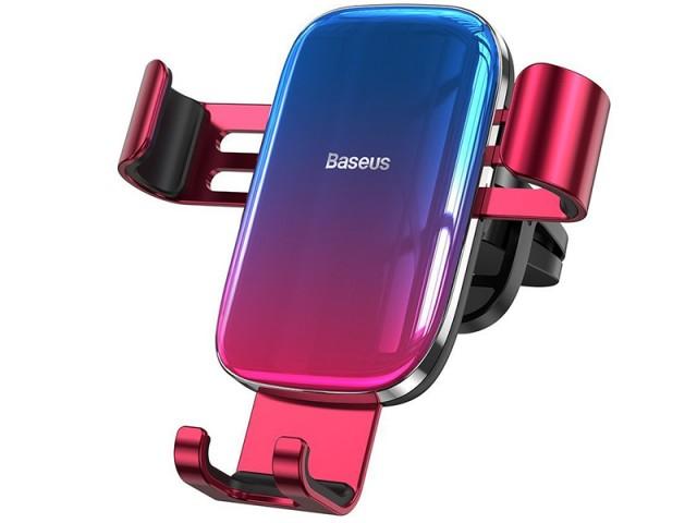 پایه نگهدارنده گوشی موبایل بیسوس مدل Glaze Gravity Car Mount SUYL-LG09