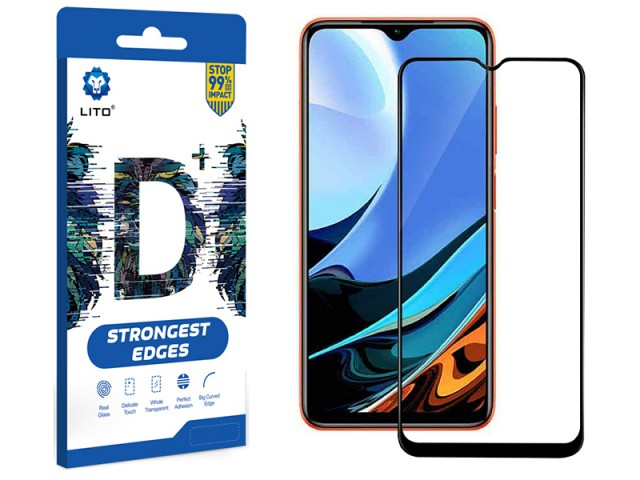 محافظ صفحه نمایش لیتو مدل +D مناسب برای گوشی موبایل شیائومی Poco M3