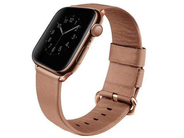 بند چرمی ساعت یونیک مدل Mondain مناسب برای اپل واچ 40 میلیمتری