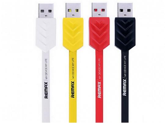 کابل تبديل USB به microUSB ريمکس مدل Fishbone