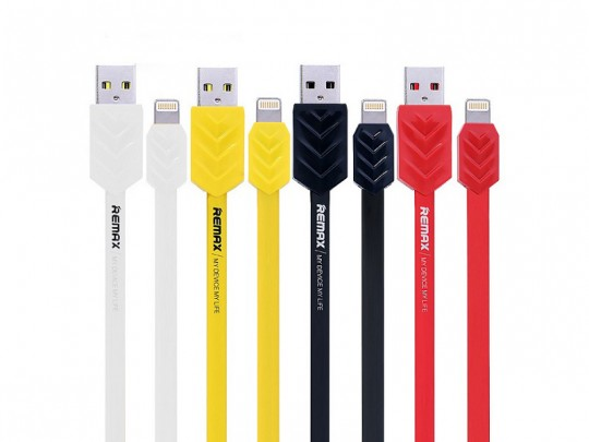 کابل تبديل USB به Lightning  ريمکس مدل Fishbone