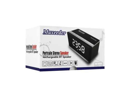اسپیکر  بلوتوث ساعت دار مکسیدر مدل RS0533