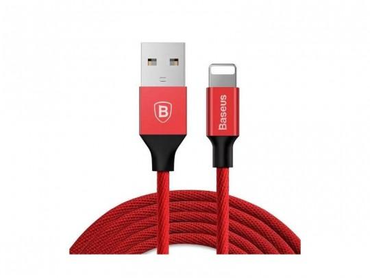 کابل شارژ و انتقال داده  USB to Lightning  بیسوس سری Yiven مدل CALYW-A01