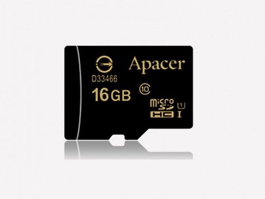 کارت حافظه 16 گیگابایت  microSDHC اپيسر کلاس 10 استاندارد UHS-I U1 سرعت 45MBps به همراه آداپتور