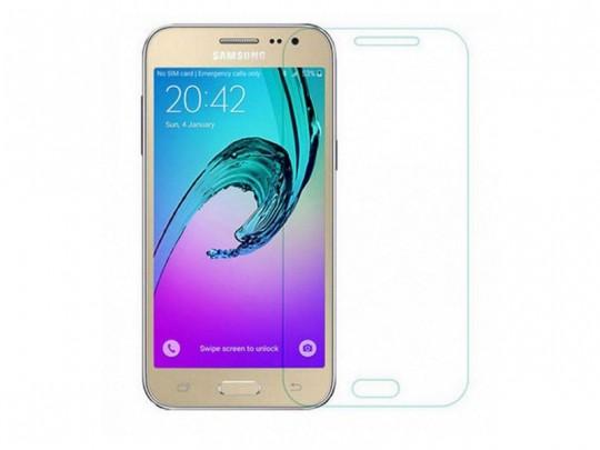 محافظ صفحه نمایش شیشه ای مدل Tempered مناسب برای گوشی موبایل سامسونگ Galaxy j3 2016