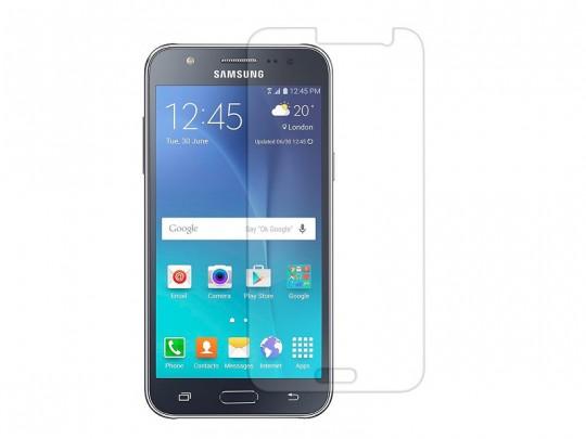 محافظ صفحه نمایش شیشه ای مدل Tempered مناسب برای گوشی موبایل سامسونگ Galaxy j7 2015
