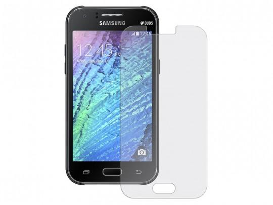 محافظ صفحه نمایش شیشه ای مدل Tempered مناسب برای گوشی موبایل سامسونگ Galaxy J1 2015