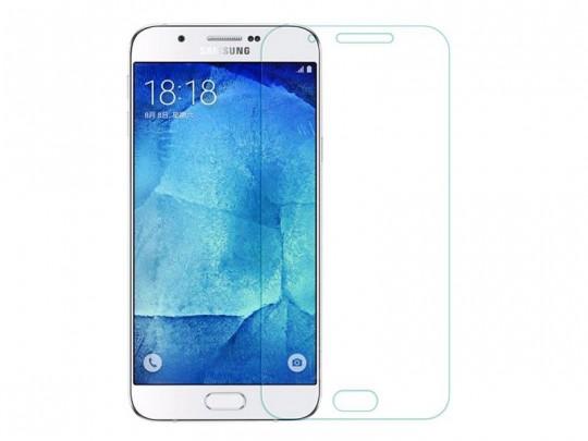 محافظ صفحه نمایش شیشه ای مدل Tempered مناسب برای گوشی موبایل سامسونگ Galaxy A8 2015