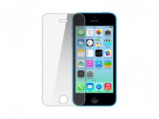 محافظ صفحه نمايش شيشه ای مدل Tempered مناسب برای گوشی موبايل اپل آیفون 5