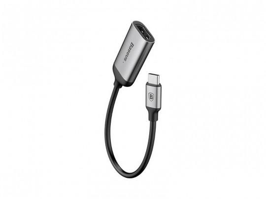 کابل تبدیل USB-C به HDMI  بیسوس مدل Portable Joint Adapter به طول 15 سانتی متر