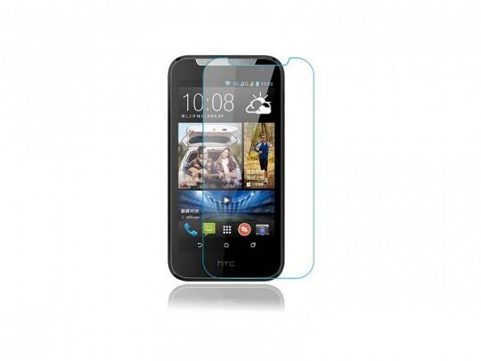 محافظ صفحه نمایش شیشه ای مدل Tempered مناسب برای گوشی موبایل اچ تی سی D526