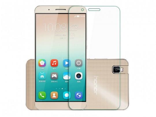 محافظ صفحه نمایش شیشه ای تمپرد مناسب برای گوشی موبایل هواوی Honor 7i/Shot X