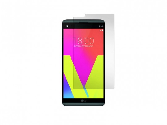 محافظ صفحه نمایش شیشه ای مدل Tempered مناسب برای گوشی موبایل ال جی V20