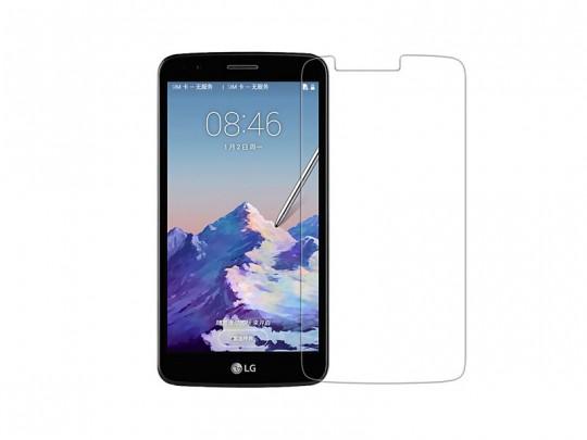 محافظ صفحه نمایش شیشه ای مدل Tempered مناسب برای گوشی موبایل ال جی Stylus3
