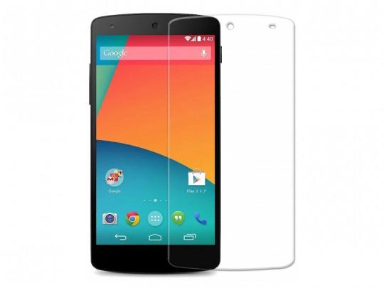 محافظ صفحه نمایش شیشه ای مدل Tempered مناسب برای گوشی موبایل ال جیnexus 5