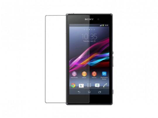 محافظ صفحه نمایش شیشه ای مدل Tempered مناسب برای گوشی موبایل سونی Xperia Z1