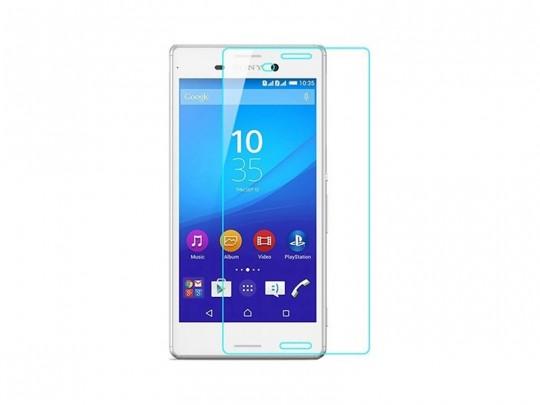 محافظ صفحه نمایش شیشه ای تمپرد مناسب برای گوشی موبایل سونی Xperia M4