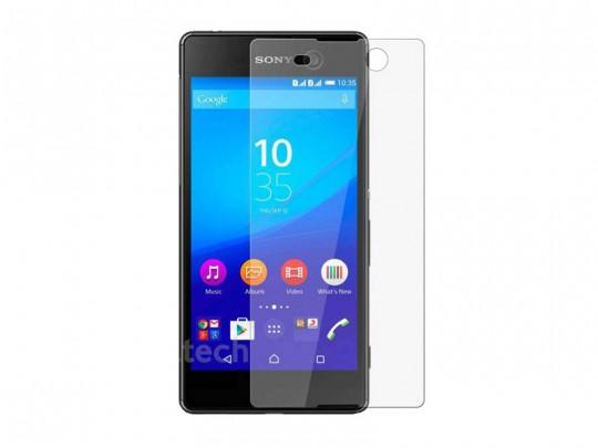 محافظ صفحه نمایش شیشه ای تمپرد مناسب برای گوشی موبایل سونی Xperia M5