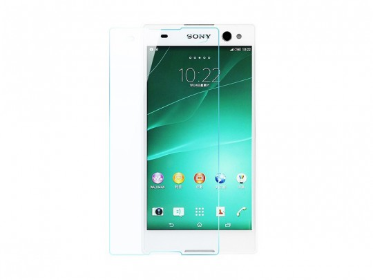 محافظ صفحه نمایش شیشه ای تمپرد مناسب برای گوشی موبایل سونی Xperia c3